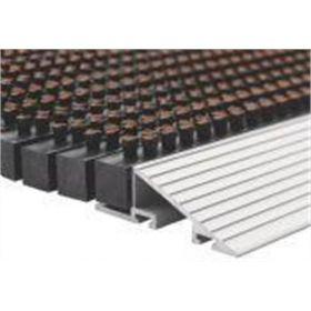 Profil en aluminium pour tapis brosse