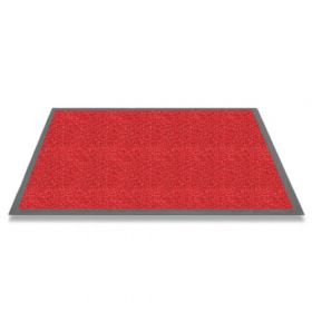 Tapis anti salissure Candy 60x90cm rouge