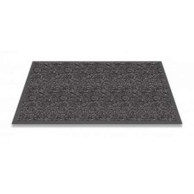 antraciet wasbare mat